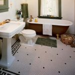 Vintage and Classic Bathroom Tile Design 37